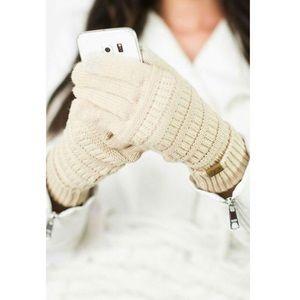 C.C Warm Touchscreen Compatible Gloves.